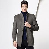 恒源祥(Hengyuanxiang) 羊毛大衣