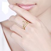 丰红 戒指