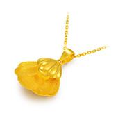 中国黄金(China Gold) 水贝情话金项链