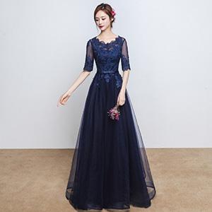 依贝缇 秋冬季时尚主持人礼服