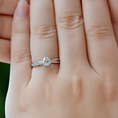 盛尊(SZ) 圆形钻石戒指