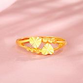 钻石快线 黄金戒心戒指
