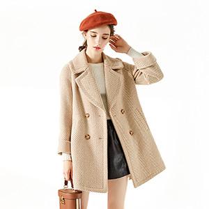 一米阳光 冬装妮子大衣