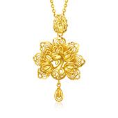 梦金园(MOKINGRAN) 黄金项链