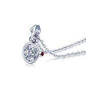 I Do 红宝石钻石项链
