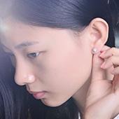 佐卡伊 钻石耳钉