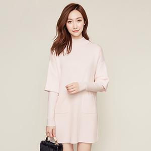 拉夏贝尔(La Chapelle) 秋装韩版连衣裙
