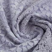 恒源祥 时尚花边领 优雅钉珠长款蕾丝连衣裙