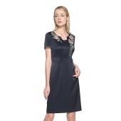阿玛尼 高端定制 假两件式 修身连衣裙