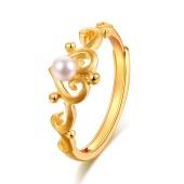 千叶珠宝 黄金戒指