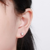 珂兰 钻石耳钉