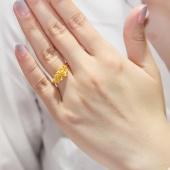 金大生 花朵戒指