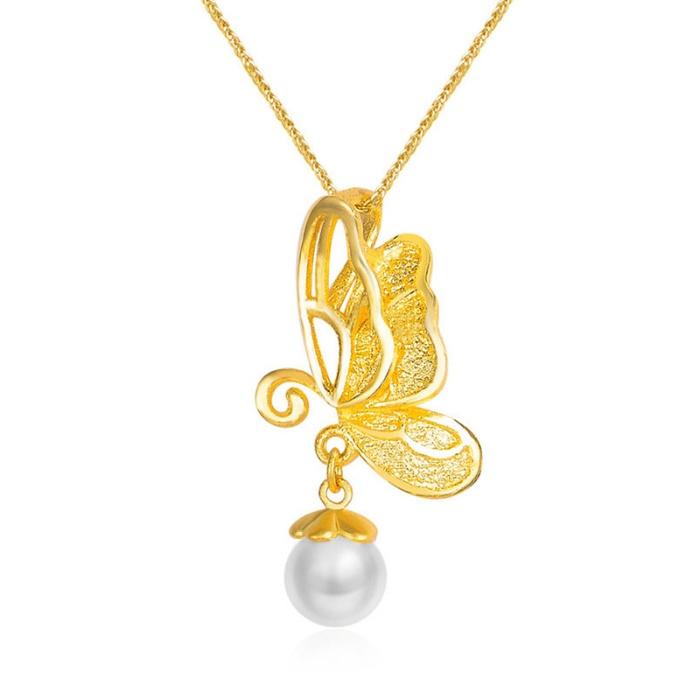 今生(LIFE) 镶嵌珍珠项链