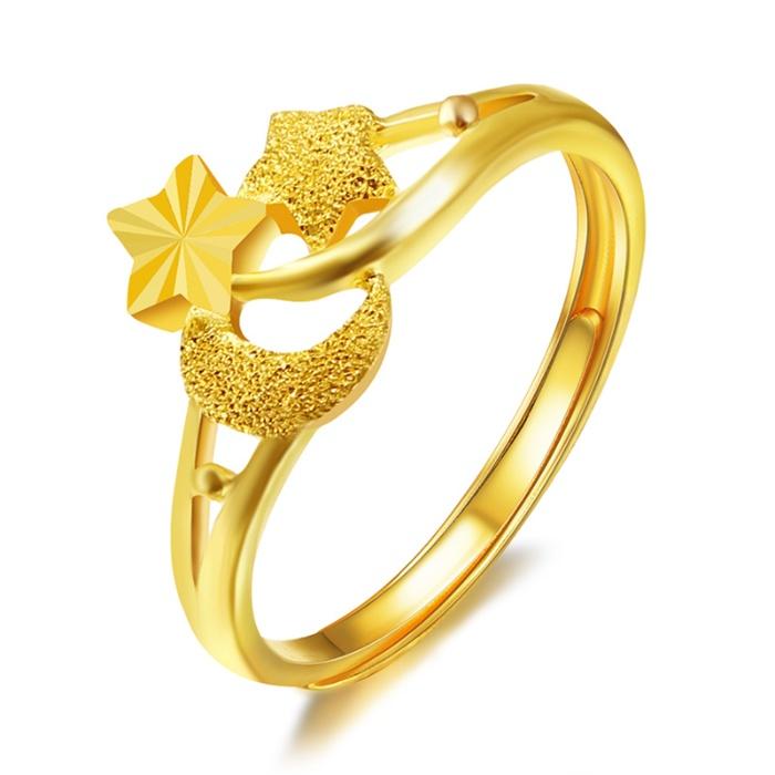 钻石凤凰(Dphoenix) 黄金戒指