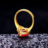 戴玫雅 心形戒指