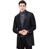 千纸鹤(QIANZHIHE) 修身羊毛呢大衣